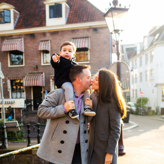 Family Photos in Amsterdam