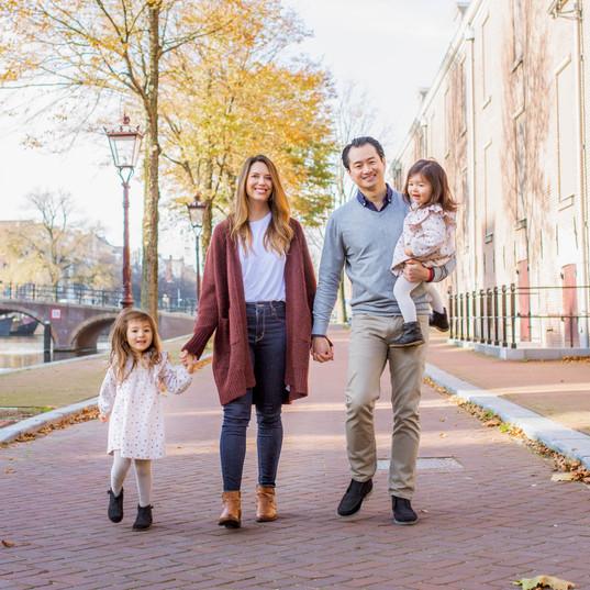 Family Photo in Amsterdam