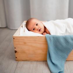 Baby Boy Blue Swaddle
