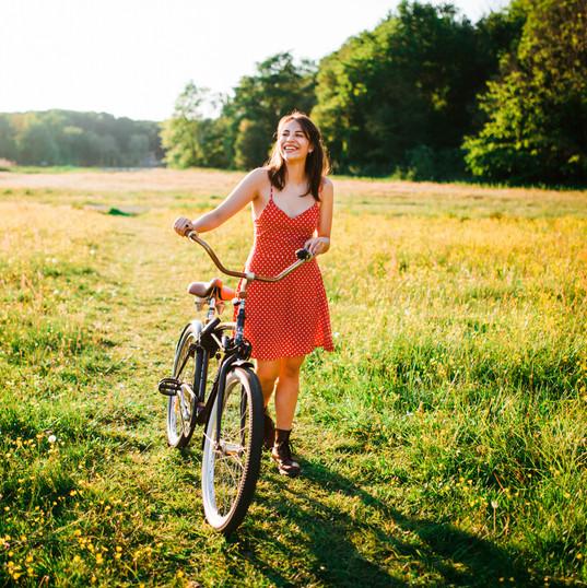 Photoshoot with Bike