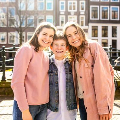 Siblings in Amsterdam
