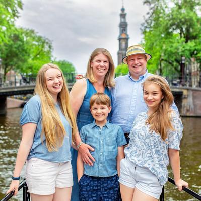 Family Photos Canal Boat