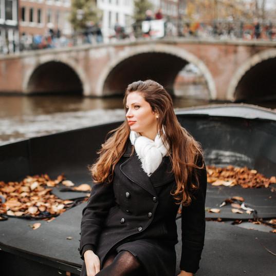 Fall Portrait in Amsterdam