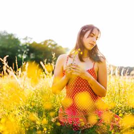 Flower Field Photoshoot