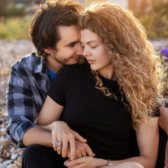 Intimate Couple's Photo