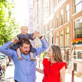 Amsterdam Family Photo