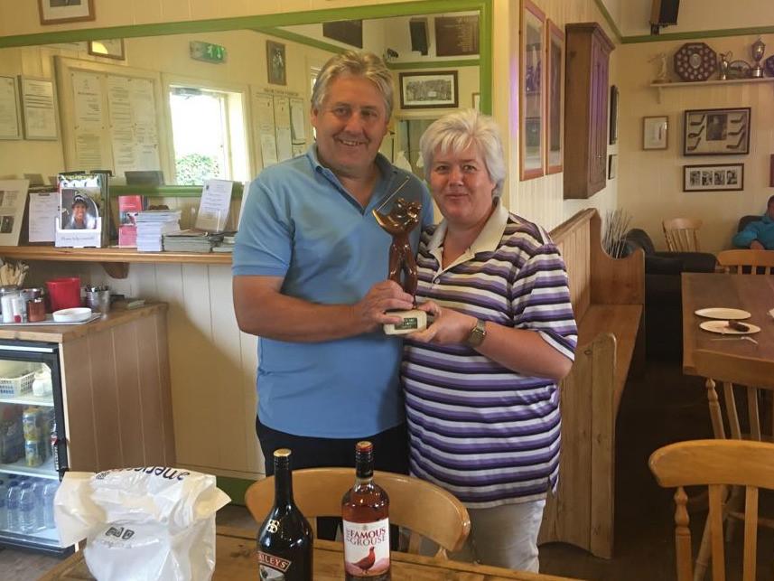 Kieth Bassett Day winners Karl and Caroline