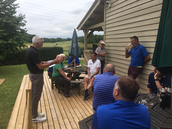AVGC England & Wales Blind Golfers Association Charity Day