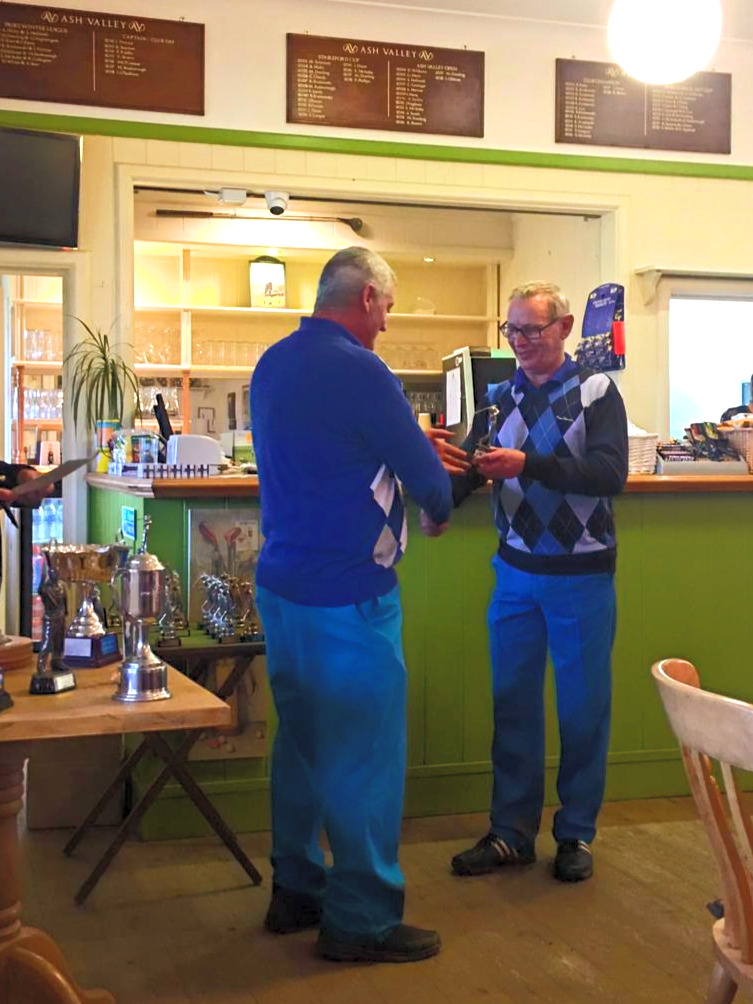 Stableford Cup runner up