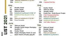 Fixture List 2021