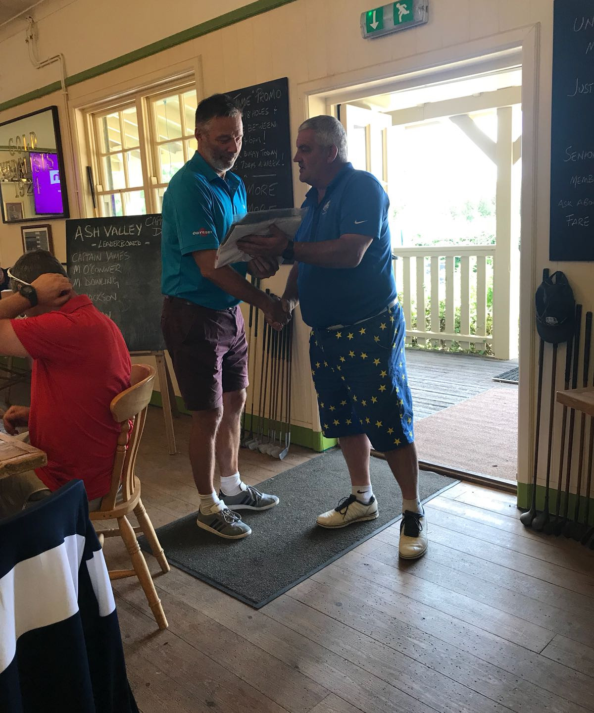 3rd place - Mark Dowling