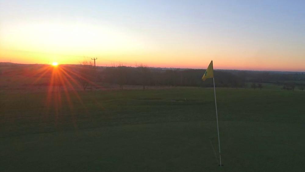 Sunrise at Ash Valley