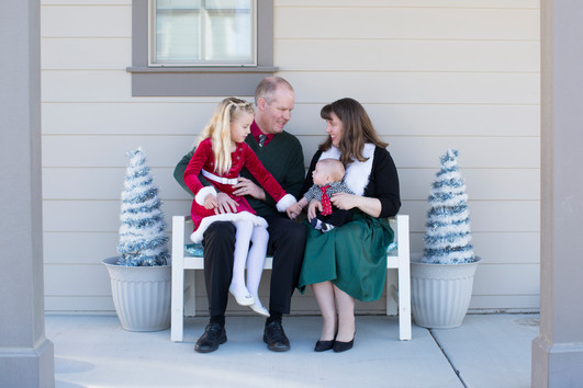 Boxell Family Christmas | Salt Lake City Family Photographer