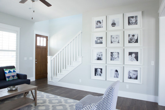 My Favorite Way to Hang a Gallery Wall | Utah Family Photographer
