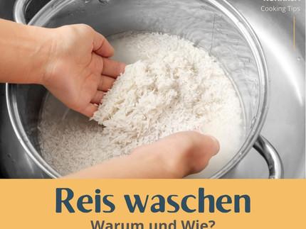 Muss man Reis waschen? 🤔