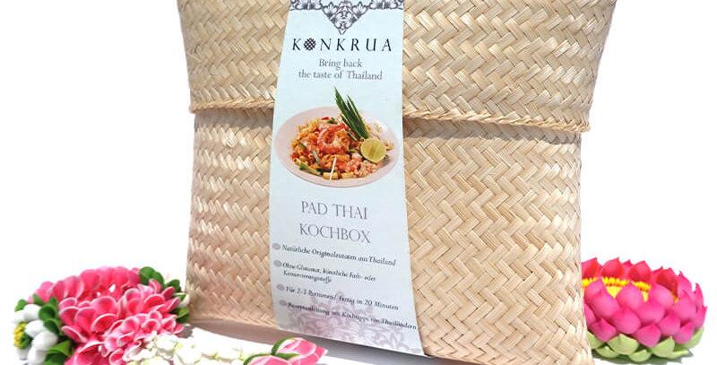 Pad Thai Kochbox (für 2-3 Portionen) in der Bambusbox