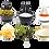 Thumbnail: Grünes Thai-Curry Kochbox (für 3-4 Portionen) in der Schilfgras-Tasche