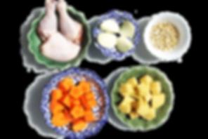 Massaman Curry Rezept Thai Kochen thailändische Zutaten Thai Rezept Konkrua Kochbox Tom Kha Massaman Pad Thai Rotes Thai Curry Grünes Thai Curry Tom Yum Hühnerfleisch Zwiebel Karotte Kartoffel Erdnüsse