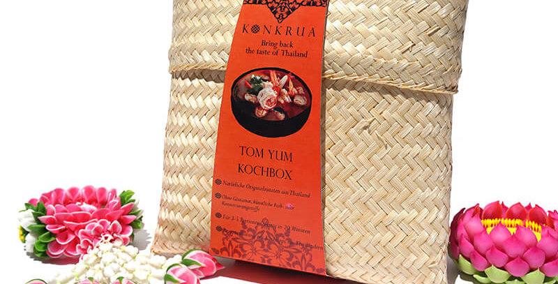 Tom Yum Kochbox (für 3-4 Portionen) in der Bambusbox