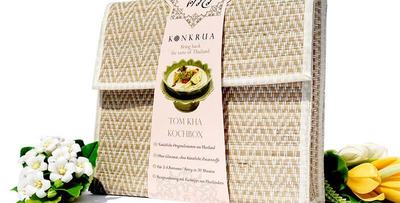 Tom Kha Kochbox (für 3-4 Portionen) in der Schilfgras-Tasche