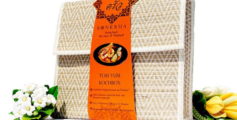Tom Yum Kochbox (für 3-4 Portionen) in der Schilfgras-Tasche