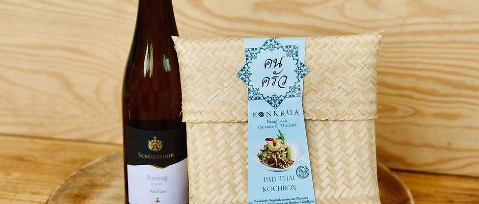 Wine & Dine (Pad Thai Kochbox mit Riesling Alte Reben)