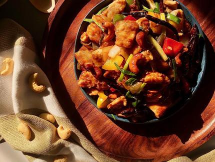Hühnchen mit Cashew-Nüssen