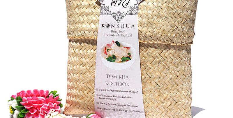 Tom Kha Kochbox (für 3-4 Portionen) in der Bambusbox
