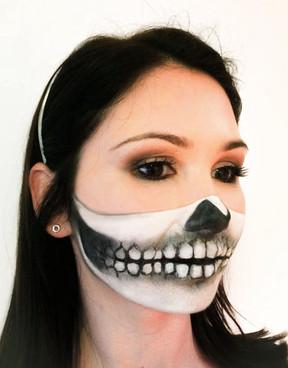 Half Mask Skull