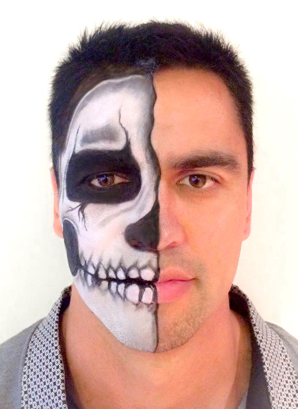 Half Face Skull