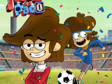 Cartoon Network se suma a la pasión del fútbol con 'Juaco vs Paco', una nueva producción original