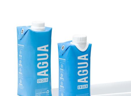Agua en Caja una alternativa para darle un respiro al planeta