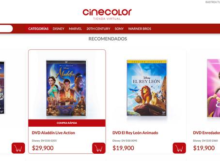 Cinecolor Colombia lanza su nueva Tienda Virtual