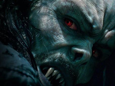 """Primer adelante de """"Morbius"""". La nueva película Sony Pictures en asociación con Marvel Studios."""