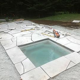 Idée paysagement spa