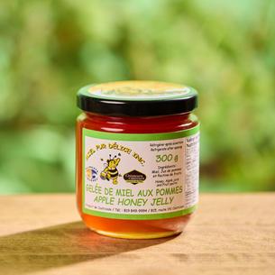 Gelée de miel aux pommes