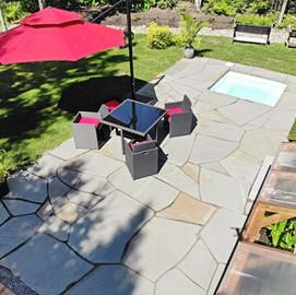 Aménagement de patios résidentiels
