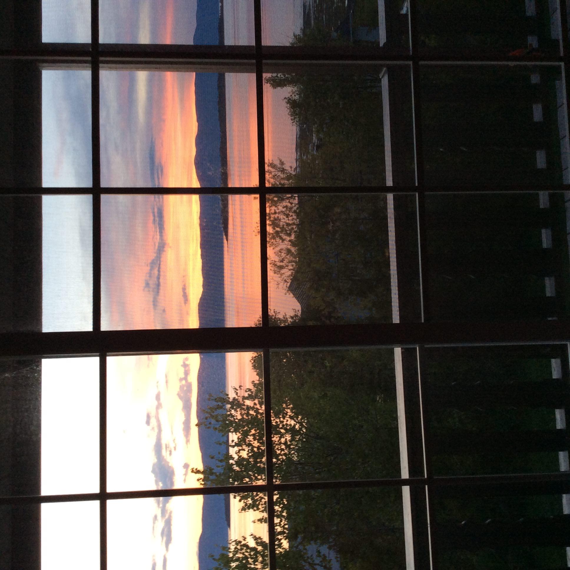 Vue de la fenêtre - Chalet de la Haute Ville