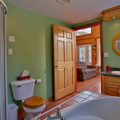 Salle de bain vue