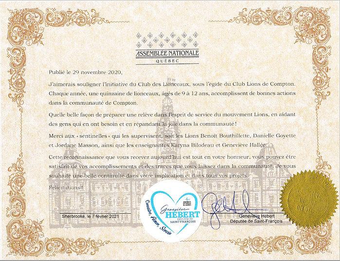 Certificat-Lionceaux-Assemblee-nationale