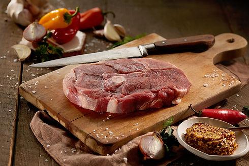 Steak de gigot d'agneau épaule