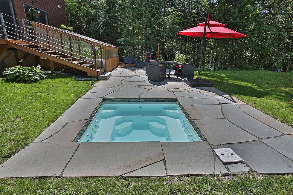 Aménagement de piscine et de spa Estrie Cantons-de-l'Est