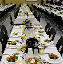 La table est mise Souper fondue.jpg