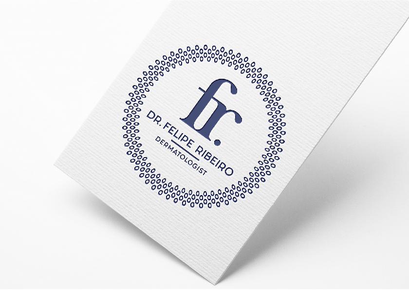 dermatologist business card