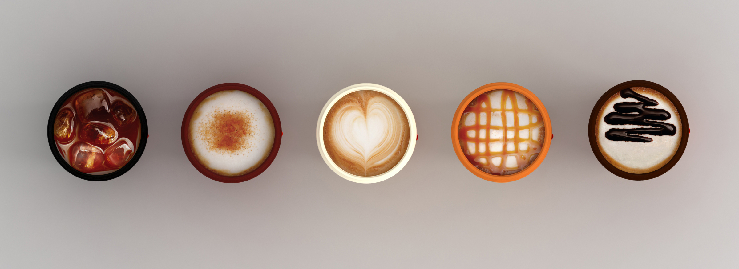 caffe latte lid
