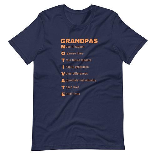 Grandpa's Motivate Short-Sleeve Unisex T-Shirt