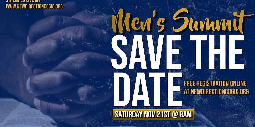 New Direction COGIC Virtual Men's Summit