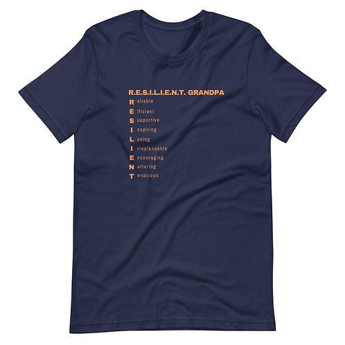 Resilient Grandpa Short-Sleeve Unisex T-Shirt