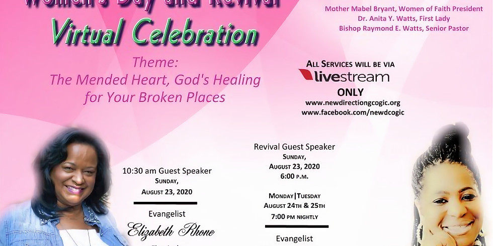 Women's Revival: The Mended Heart, God's Healing for Your Broken Places
