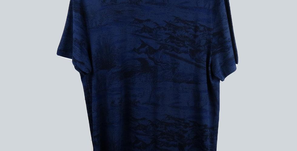 G-Star RAW Print T-Shirt Navy